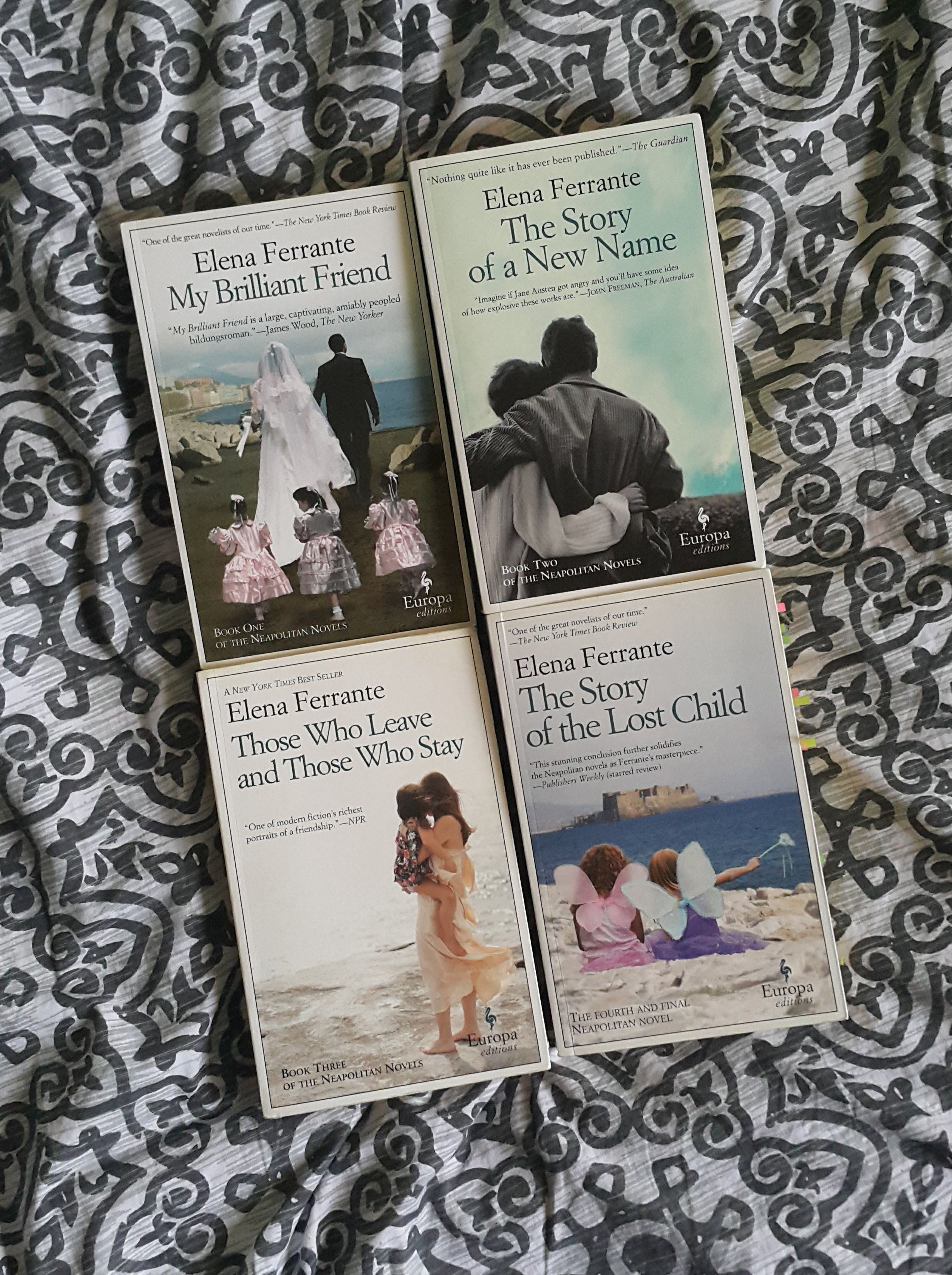 I read : The Neapolitan Novels by Elena Ferrante [may contain SPOILERS!]